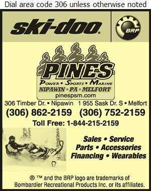 Pines Power Sports Marine - Snowmobiles Digital Ad