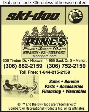 Pines Power Sports Marine - Snowmobiles Digital Ad