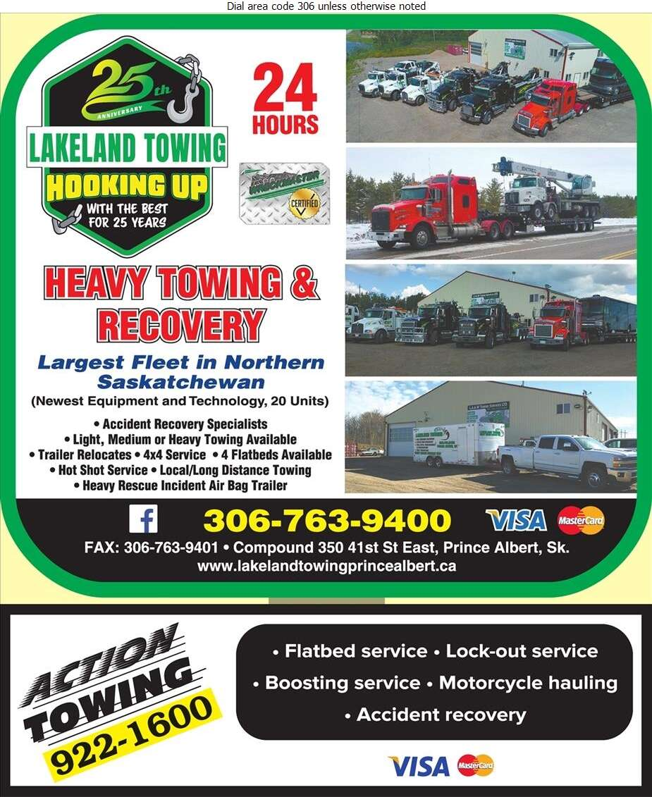 Lakeland Towing - Towing & Boosting Service Digital Ad