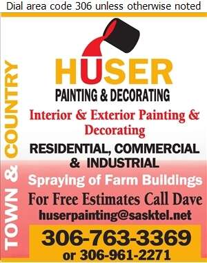 Huser Painting - Painting Contractors Digital Ad