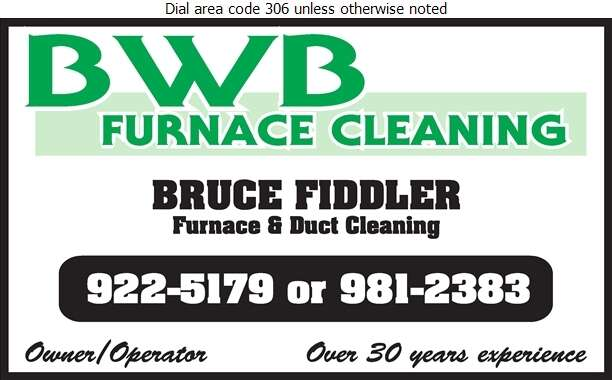 BWB Furnace Cleaning - Furnaces Cleaning Digital Ad
