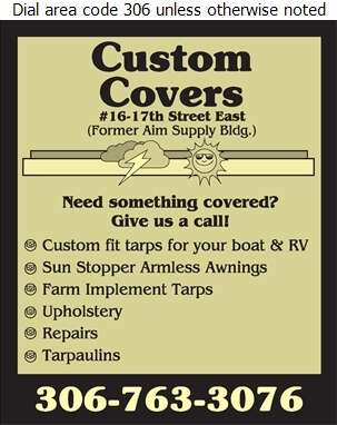 Custom Covers - Tarpaulins Digital Ad