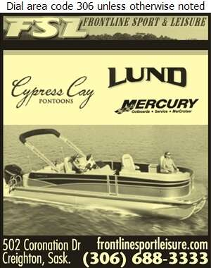 Frontline Sport & Leisure Ltd - Boat Dealers Digital Ad