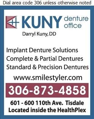 Kuny Denture Office - Denturists Digital Ad