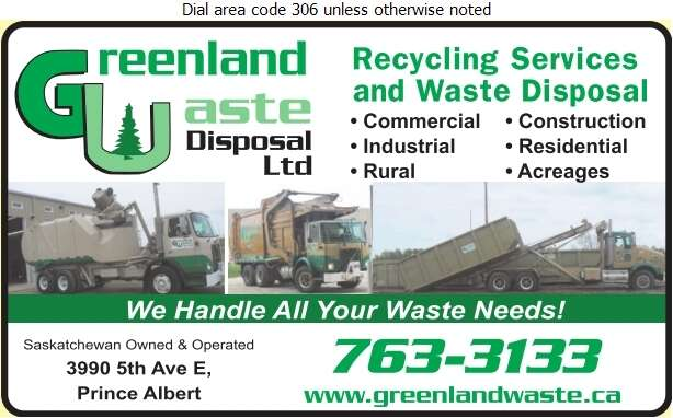 Greenland Waste Disposal Ltd - Garbage Collection Digital Ad