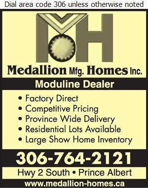 Medallion Mfg Homes Inc - Mobile Homes Dealers Digital Ad