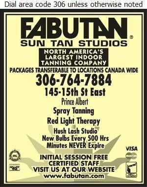 Fabutan - Tanning Salons Digital Ad