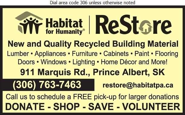 ReStore-Habitat For Humanity - Lumber Retail Digital Ad