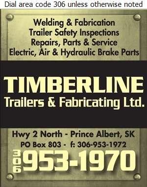 Timberline Trailers & Fabricating Ltd - Welding Digital Ad