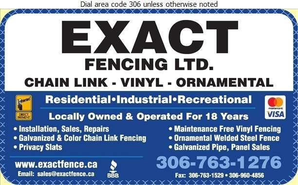 Exact Fencing Ltd - Fences Digital Ad