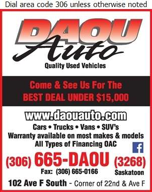 Daou Auto - Auto Dealers Used Cars Digital Ad