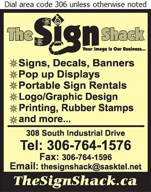 The Sign Shack - Signs Digital Ad