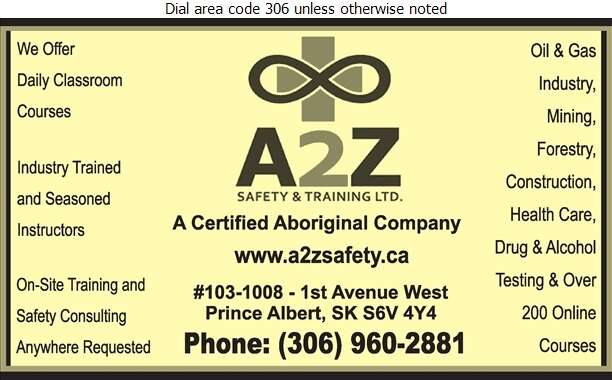 A2z Safety & Training - Safety Consultants & Training Digital Ad
