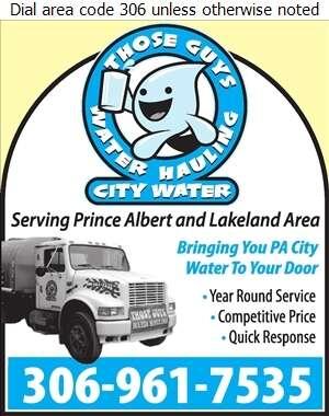 Those Guys Water Hauling - Water Hauling Service Digital Ad