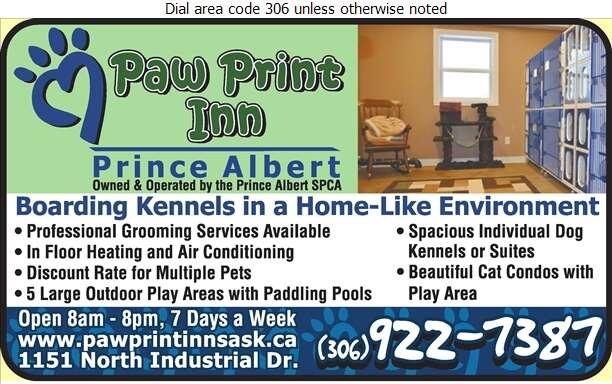 Paw Print Inn - Kennels Digital Ad