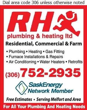 RH Plumbing & Heating Ltd - Plumbing Contractors Digital Ad