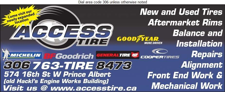 Access Tire - Tire Dealers Retail Digital Ad