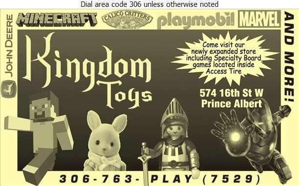 Kingdom Toys - Toys Retail Digital Ad