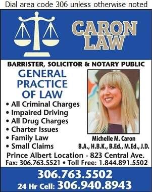 Caron Law - Lawyers Digital Ad