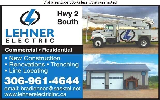 Lehner Electric Inc - Electric Contractors Digital Ad