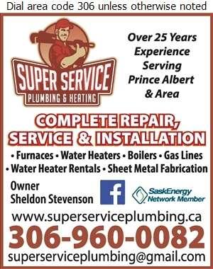 Super Service Plumbing & Heating Ltd - Heating Contractors Digital Ad