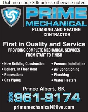 Prime Mechanical - Plumbing Contractors Digital Ad