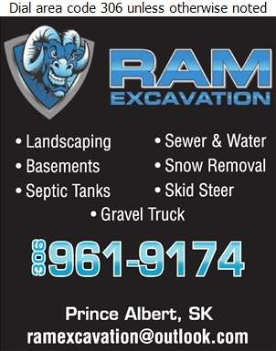 Ram Excavation - Excavating Contractors Digital Ad