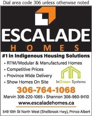Escalade Homes - Mobile Homes Dealers Digital Ad