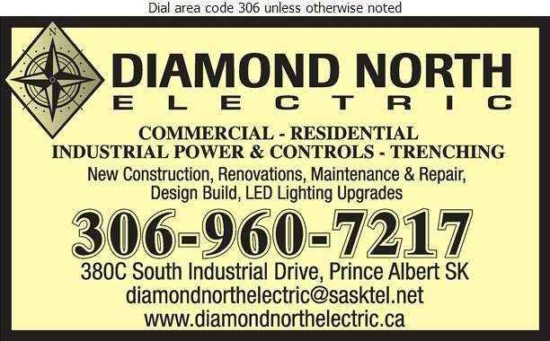 Diamond North Electric - Electric Contractors Digital Ad