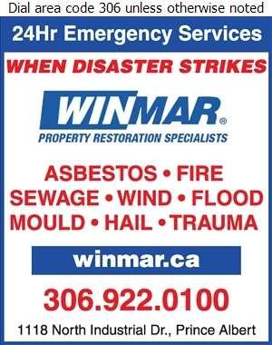Winmar - Asbestos Removal Supplies & Services Digital Ad