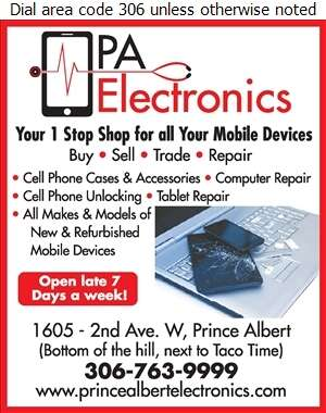 PA Electronics - Cellular Telephone Repair Digital Ad