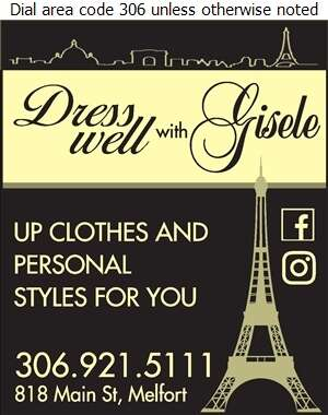 Dress Well With Gisele - Ladies Wear Retail Digital Ad