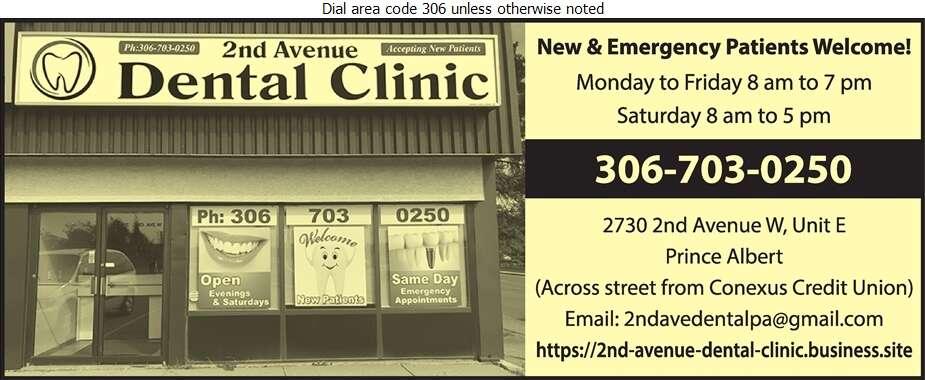2nd Avenue Dental Clinic - Dentists Digital Ad