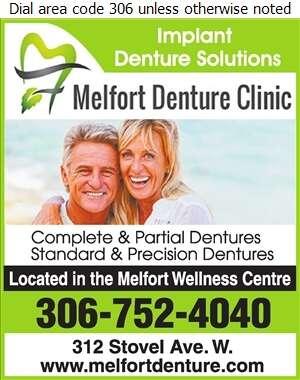 Melfort Denture Clinic - Denturists Digital Ad