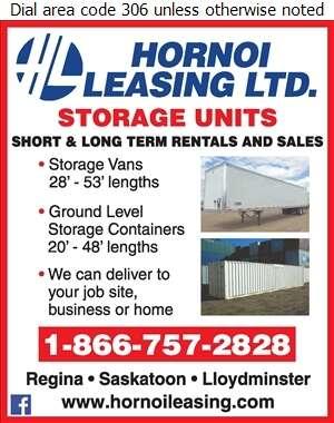 Hornoi Leasing Ltd - Storage- Household & Commercial Digital Ad