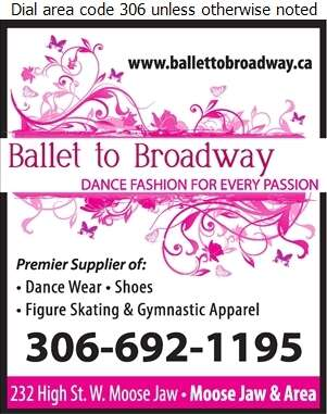 Ballet to Broadway - Dancing Supplies Digital Ad