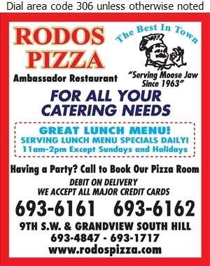 Ambassador Restaurant - Caterers Digital Ad