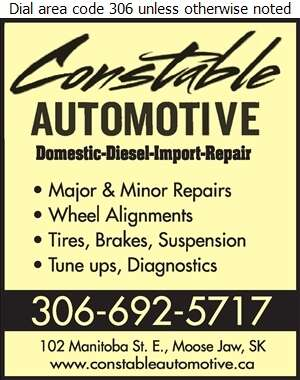 Constable Automotive - Brake Service Digital Ad