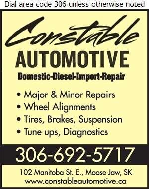 Constable Automotive - Brake Service Digital Ad