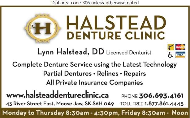 Halstead Denture Clinic - Denturists Digital Ad