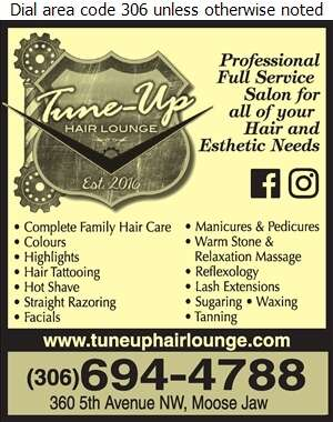 Tune Up Hair Lounge - Beauty Salons Digital Ad