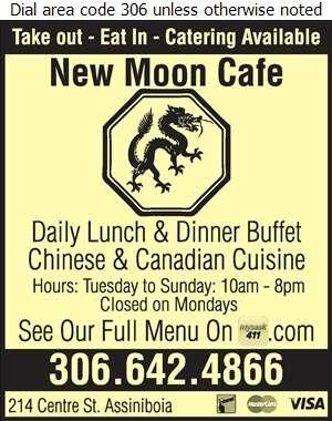 New Moon Cafe - Restaurants Digital Ad