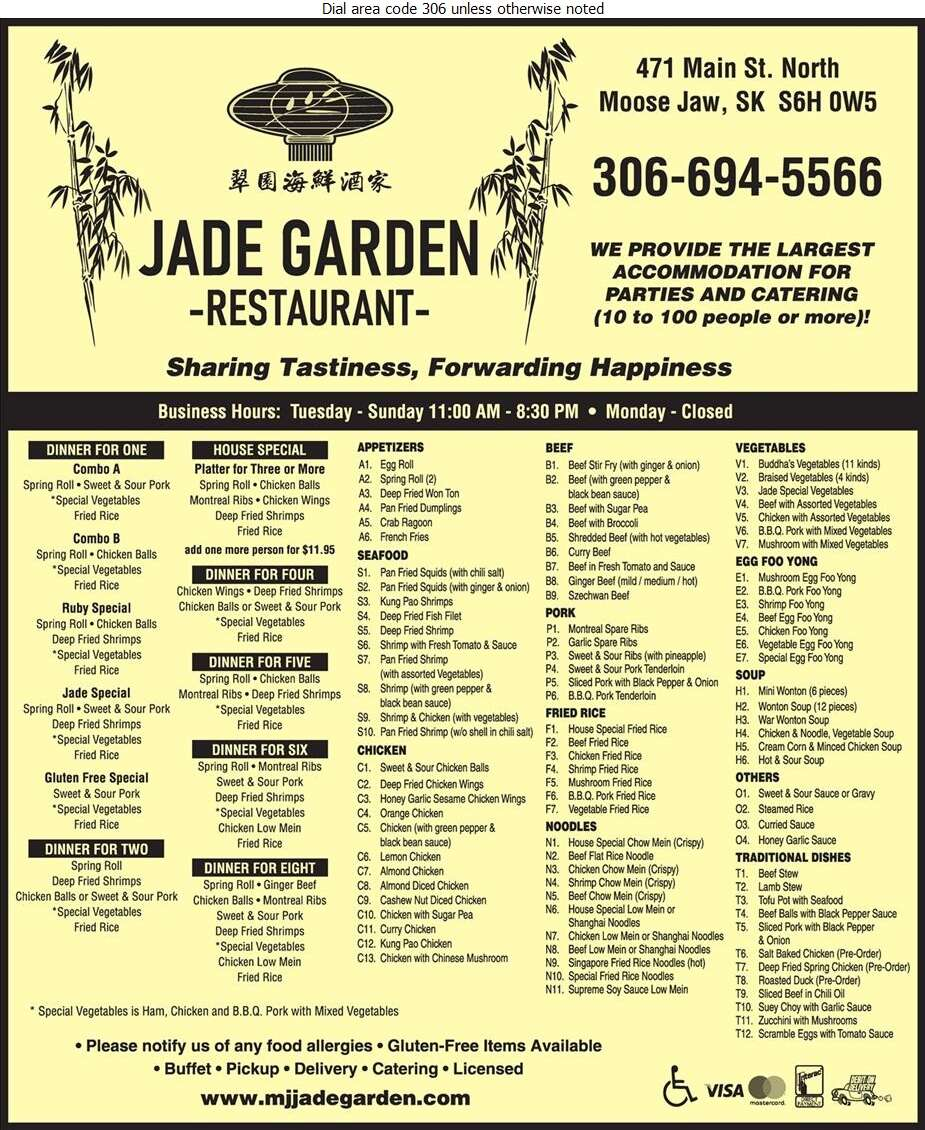 Jade Garden - Restaurants Digital Ad