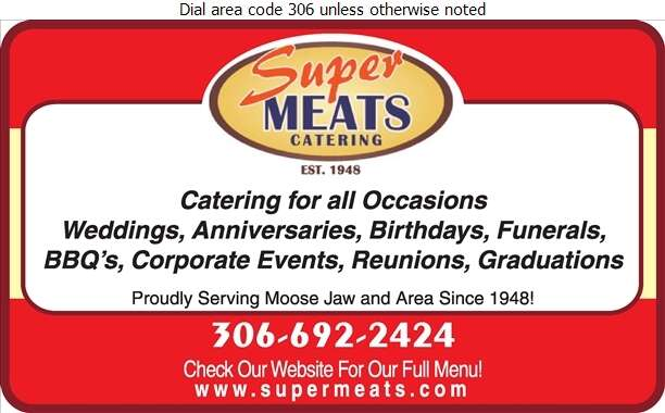 Super Meats Catering - Caterers Digital Ad