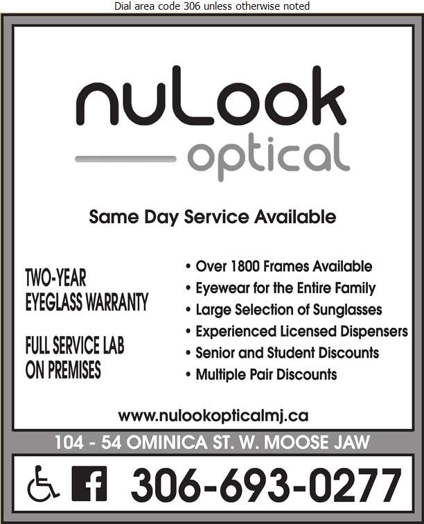 Nu Look Optical - Optical Dispensers Digital Ad