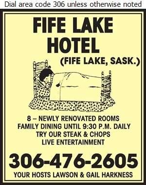 Fife Lake Hotel - Hotels Digital Ad