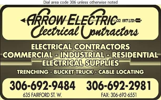 Arrow Electric Co (1977) Limited - Electric Contractors Digital Ad