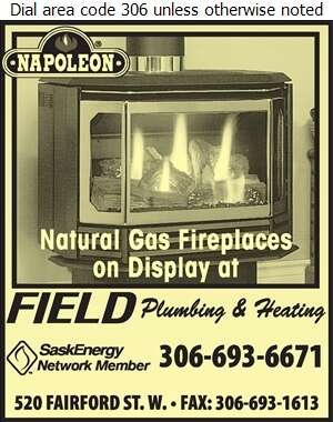 Field Plumbing & Heating Ltd - Fireplaces Digital Ad