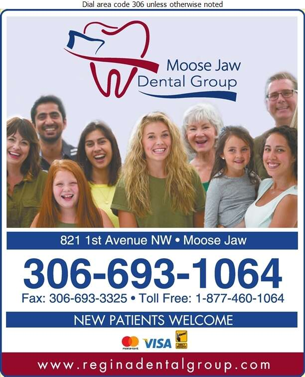 Moose Jaw Dental Group (Dr Heather Wang) - Dentists Digital Ad