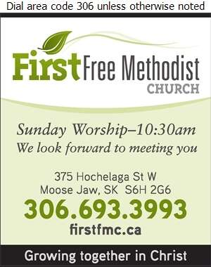 First Free Methodist Church - Church Organizations & Clergy Digital Ad